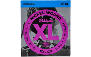 DAddario EXL120 - XL Super Light [09-42]